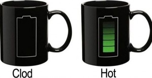 Mug tells you if you're hot or just a clod ?