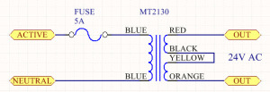 MT2130 Transformer Series Wiring
