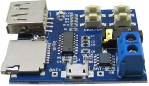 MP3 Player PCB