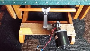 rocking chair motor mechanism