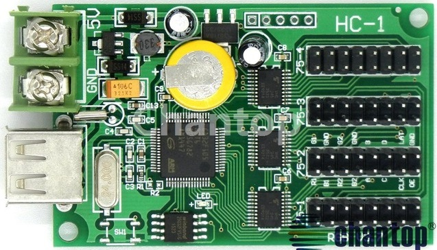 HC-1 LED Matrix Card – da-Share