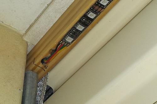 Garage Door LED Strips