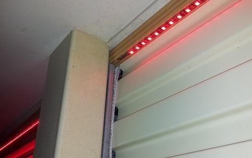 Garage Door Led Strips Da Share, Strip Lights For Garage